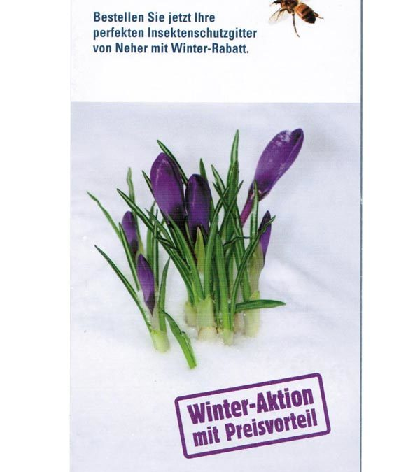 Winter Aktion mit Preisvorteil
