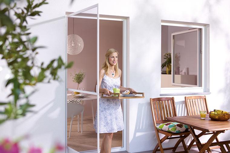 Fliegengitter für Fenster und Türen